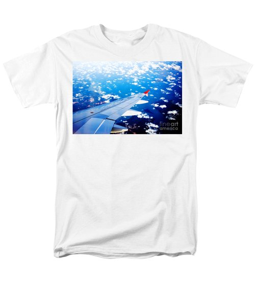 Wings And Clouds Men's T-Shirt  (Regular Fit) by Yew Kwang