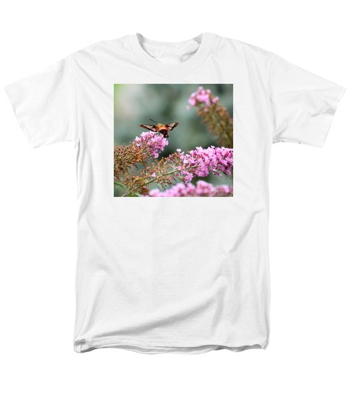 Men's T-Shirt  (Regular Fit) featuring the photograph Wings In The Flowers by Kerri Farley