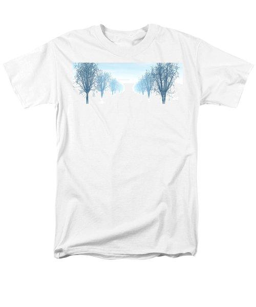 Winter Avenue Men's T-Shirt  (Regular Fit)