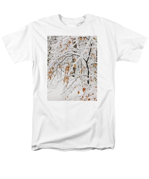 Men's T-Shirt  (Regular Fit) featuring the photograph Winter Branches by Ann Horn