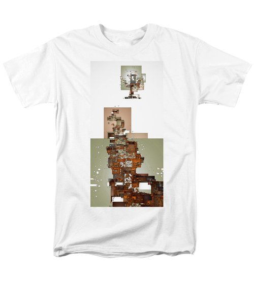 Winter Scene Men's T-Shirt  (Regular Fit) by David Hansen