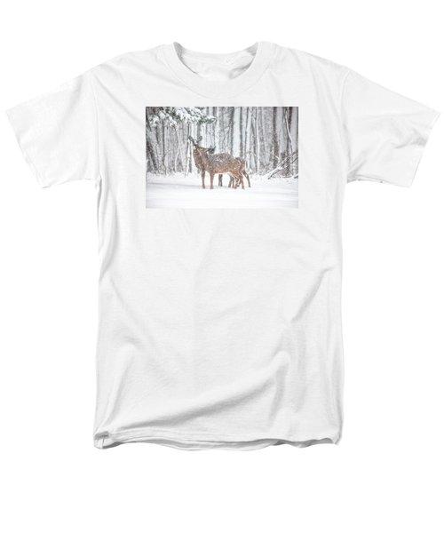 Winters Love Men's T-Shirt  (Regular Fit) by Karol Livote