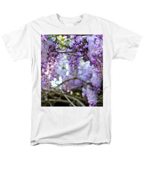 Wisteria Dream Men's T-Shirt  (Regular Fit) by Cathy Dee Janes