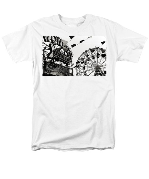 Wonder Wheel Men's T-Shirt  (Regular Fit) by Madeline Ellis