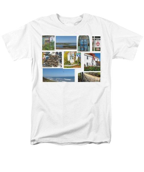 Men's T-Shirt  (Regular Fit) featuring the photograph Wonderful Wellfleet by Barbara McDevitt