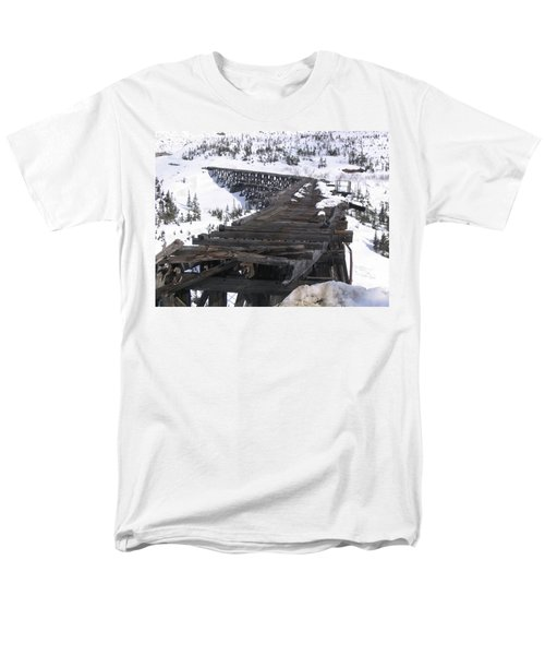 Wood Bridge Men's T-Shirt  (Regular Fit) by Brian Williamson