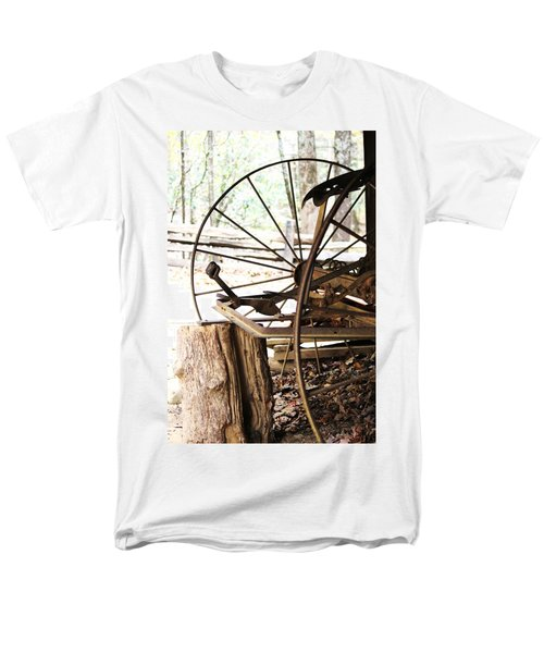 Men's T-Shirt  (Regular Fit) featuring the photograph Woody And Wheely by Faith Williams