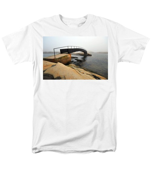 Men's T-Shirt  (Regular Fit) featuring the photograph World's End 3 by Randi Grace Nilsberg
