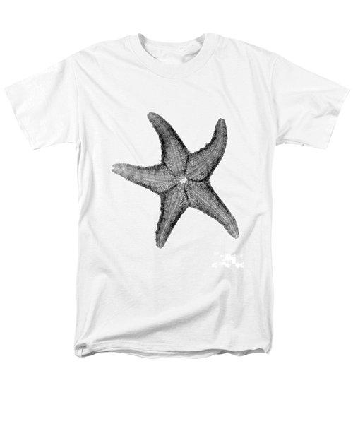 X-ray Of Starfish Men's T-Shirt  (Regular Fit) by Bert Myers