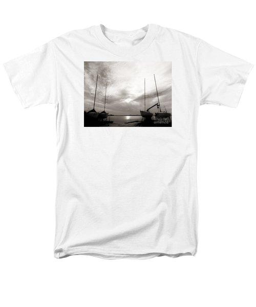 Cirrus Effect Men's T-Shirt  (Regular Fit) by Amar Sheow
