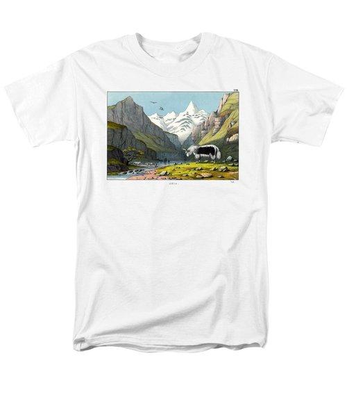 Yak Men's T-Shirt  (Regular Fit) by Splendid Art Prints