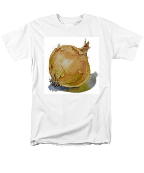 Yellow Onion Men's T-Shirt  (Regular Fit) by Irina Sztukowski