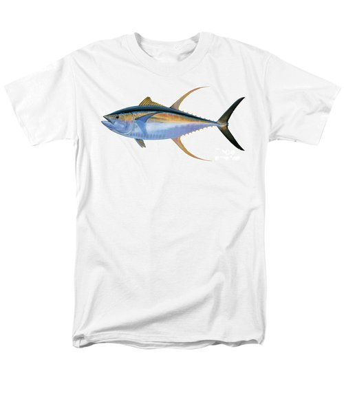 Yellowfin Tuna Men's T-Shirt  (Regular Fit) by Carey Chen