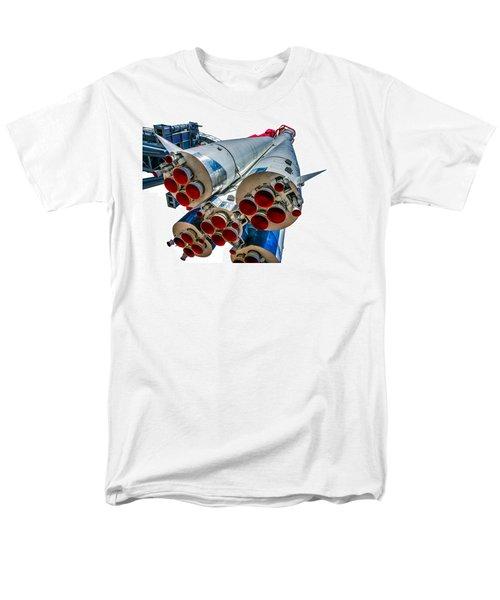 Yuri Gagarin's Spacecraft Vostok-1 - 5 Men's T-Shirt  (Regular Fit) by Alexander Senin