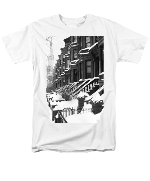 Carroll Street Men's T-Shirt  (Regular Fit) by Mark Gilman