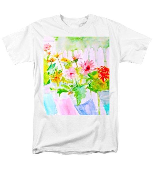 Daisy Daisy Men's T-Shirt  (Regular Fit) by Beth Saffer
