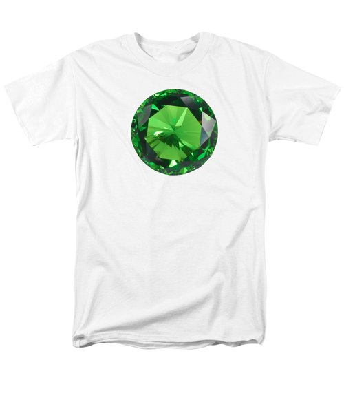 Emerald Isolated Men's T-Shirt  (Regular Fit) by Atiketta Sangasaeng