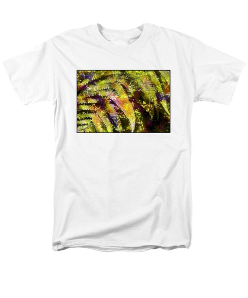 Fern In Dappled Light Men's T-Shirt  (Regular Fit) by Judi Bagwell