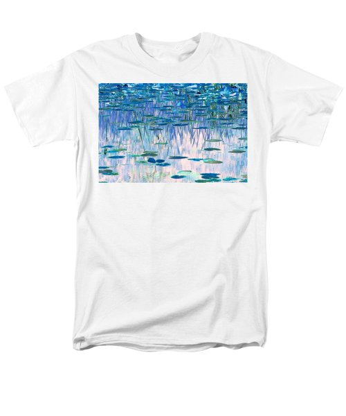 Water Lilies Men's T-Shirt  (Regular Fit) by Chris Anderson