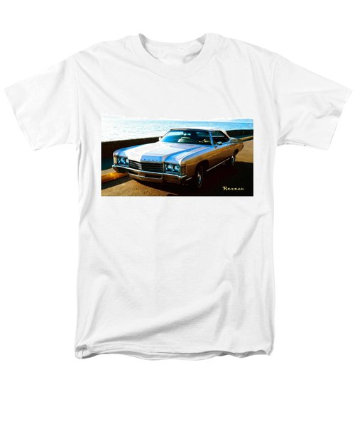 1971 Chevrolet Impala Convertible Men's T-Shirt  (Regular Fit) by Sadie Reneau