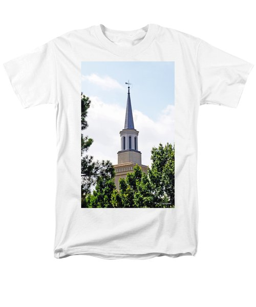 1st Presbyterian Steeple Men's T-Shirt  (Regular Fit) by Kay Lovingood