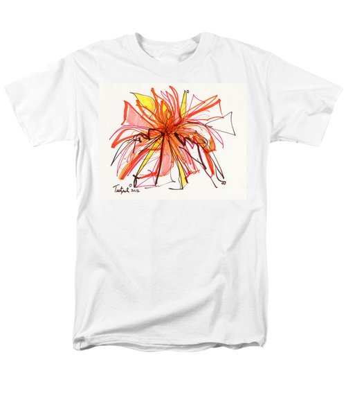2012 Drawing #15 Men's T-Shirt  (Regular Fit) by Lynne Taetzsch
