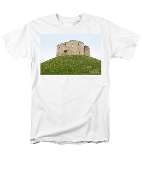 Scenes From The City Of York  Men's T-Shirt  (Regular Fit) by Carol Ailles