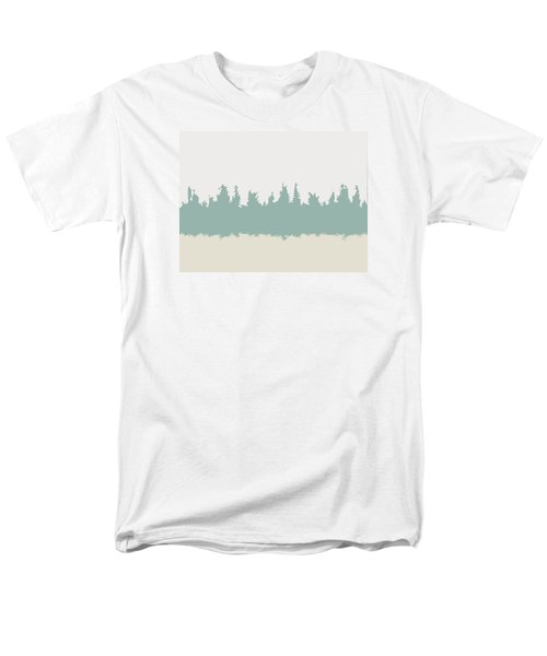 Men's T-Shirt  (Regular Fit) featuring the digital art Above And Below by Jeff Iverson