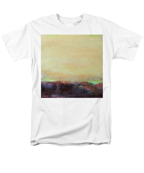 Abstract Landscape - Rose Hills Men's T-Shirt  (Regular Fit) by Kathleen Grace
