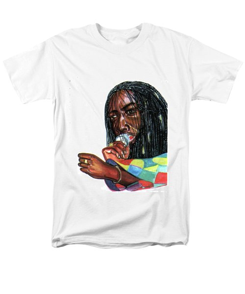 Alpha Blondy Men's T-Shirt  (Regular Fit) by Emmanuel Baliyanga