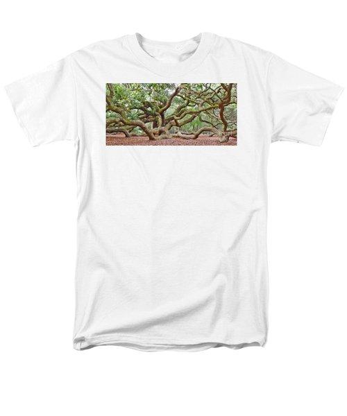 Angel Oak Men's T-Shirt  (Regular Fit) by Val Miller