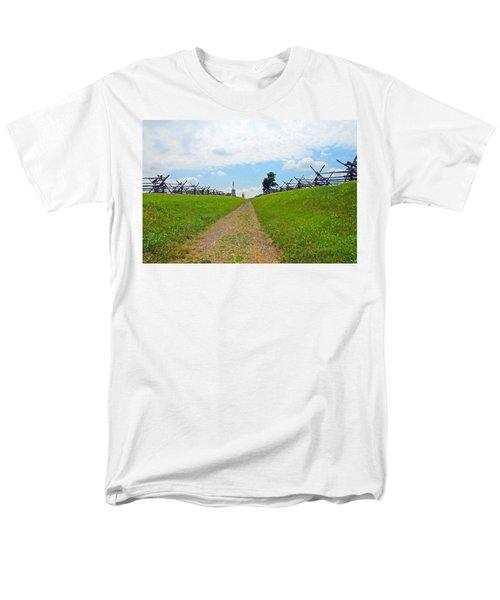 Antietam Battle Of Bloody Lane Men's T-Shirt  (Regular Fit) by Cindy Manero