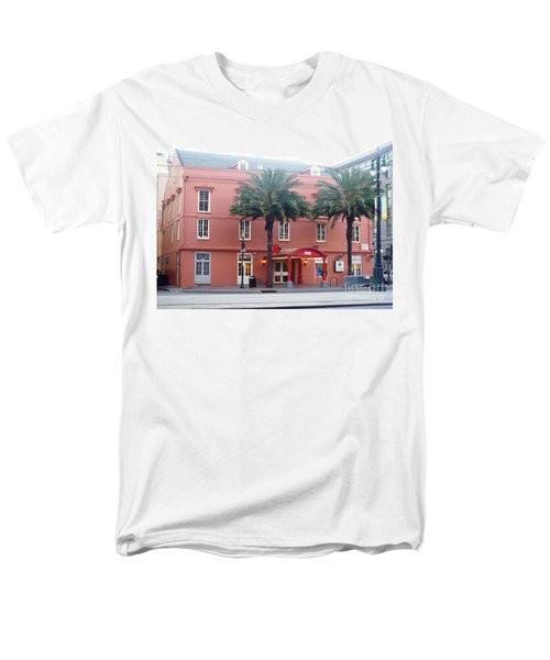 Men's T-Shirt  (Regular Fit) featuring the photograph Arby's At Dawn by Alys Caviness-Gober