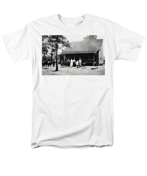 At Home  Men's T-Shirt  (Regular Fit) by Susan Leggett