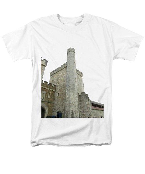 Black Tower Men's T-Shirt  (Regular Fit) by Ian Kowalski