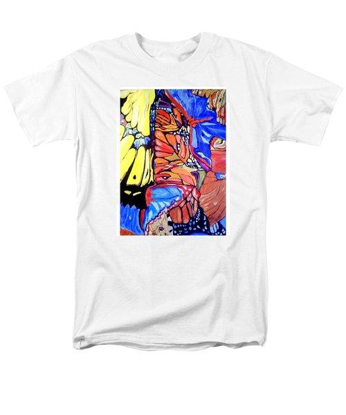 Butterfly Wings Men's T-Shirt  (Regular Fit) by Sandra Lira