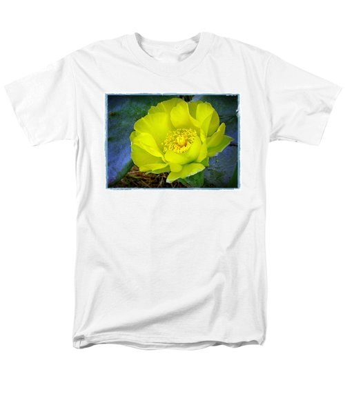 Cactus Flower Men's T-Shirt  (Regular Fit) by Judi Bagwell