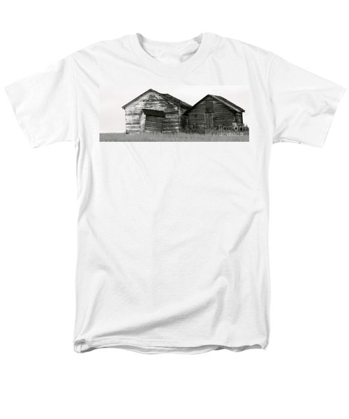 Canadian Barns Men's T-Shirt  (Regular Fit) by Jerry Fornarotto