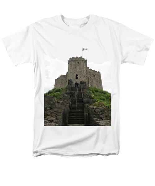 Cardiff Castle Men's T-Shirt  (Regular Fit) by Ian Kowalski