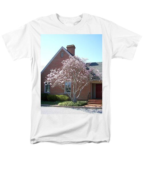Men's T-Shirt  (Regular Fit) featuring the photograph Cherry Blossom by Pamela Hyde Wilson
