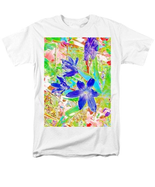 Chionodoxa Men's T-Shirt  (Regular Fit) by Barbara Moignard