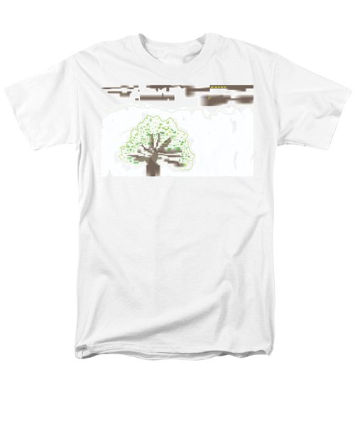 City Tree Men's T-Shirt  (Regular Fit) by Kevin McLaughlin