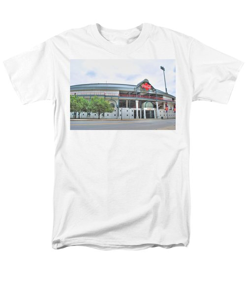Men's T-Shirt  (Regular Fit) featuring the photograph Coca Cola Field  by Michael Frank Jr