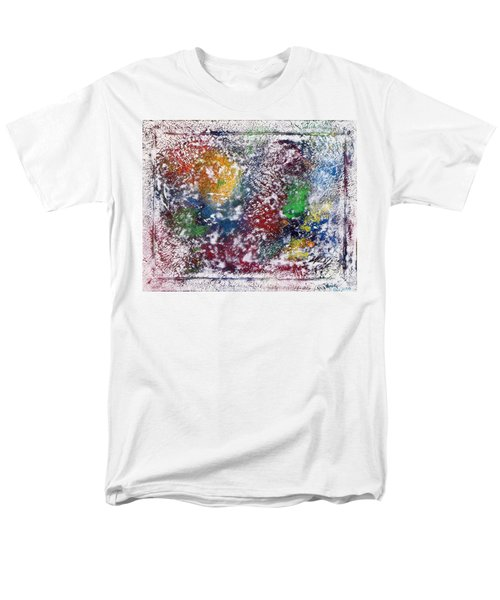 Men's T-Shirt  (Regular Fit) featuring the painting Cosmos by Alys Caviness-Gober