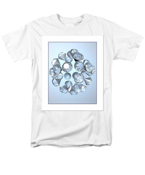 Men's T-Shirt  (Regular Fit) featuring the digital art Diamonds... by Tim Fillingim