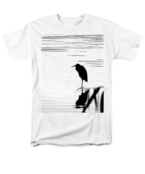 Men's T-Shirt  (Regular Fit) featuring the photograph Egret  by Lizi Beard-Ward
