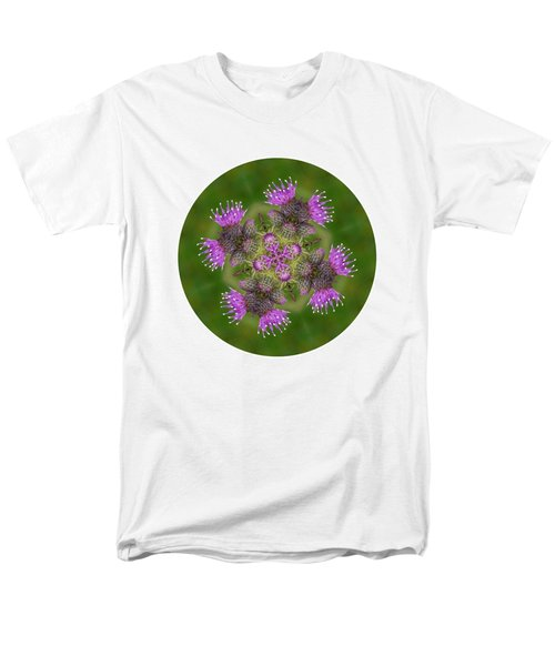 Men's T-Shirt  (Regular Fit) featuring the photograph Flower Of Scotland by Lynn Bolt