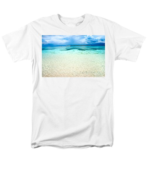 Men's T-Shirt  (Regular Fit) featuring the photograph Gili Meno - Indonesia. by Luciano Mortula