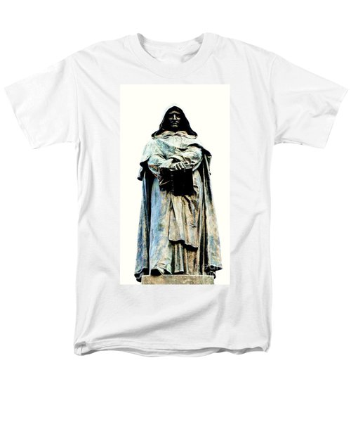 Giordano Bruno Monument Men's T-Shirt  (Regular Fit) by Roberto Prusso