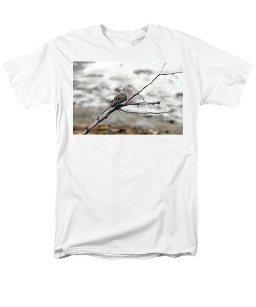 Men's T-Shirt  (Regular Fit) featuring the photograph Good Morning Dove by Elizabeth Winter